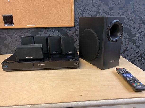 Zestaw kina domowego Panasonic Sa-btt350, 5 głosników +suboofer