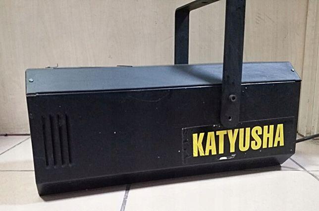 Обмен Цветомуз. Лазерный прожектор (8кг) KATYUSHA DISCO TECH (Поль