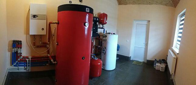 Професійний монтаж систем опалення та водопостачання