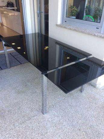 Mesa vidro extensível Cattelan Itália