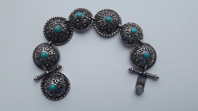 Браслет, серьги серебро. Армянский бренд PREGOMESH
