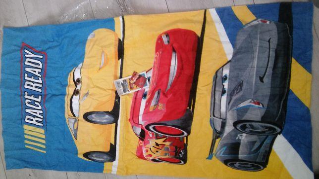 Ręcznik dla chłopca w autka Nowy na prezent