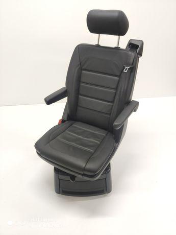 Fotel VW T5 T6 Obkręcany Obracany Skóra Nappa Generation Six