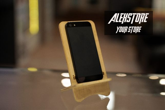 IPhone 5 16GB Black Neverlock • ALEXSTORE.COM.UA • 5/5C/5S/6/6+/6S/7/7
