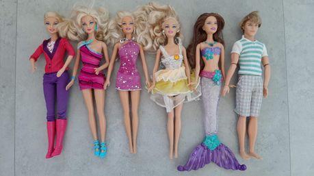 Barbie zestaw 6 latek (Ken sprzedany)