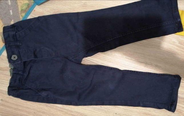 Spodnie chłopięce Chinosy H&M r. 86