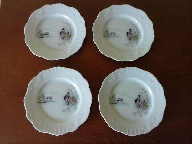 Vista Alegre - otaru (motivos orientais) - 7 pratos de entrada
