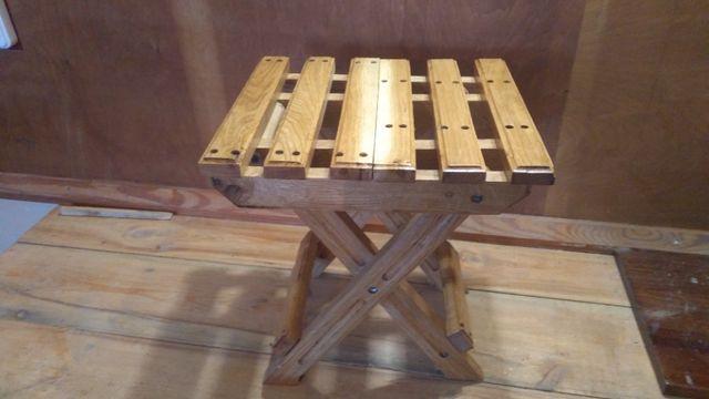 Стульчик деревянный (раскладной)