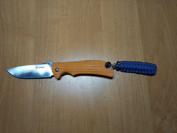 Нож Ganzo g723(с темляком+бусина)