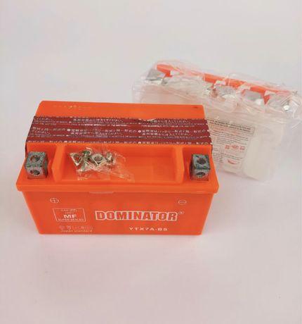 Аккумулятор Dominator YTX7A-BS; 12V7A; заливной, цена 470 грн