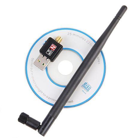 USB WiFi адаптер-роутер | Realtek RTL8188FTV | Антенна 5dBi