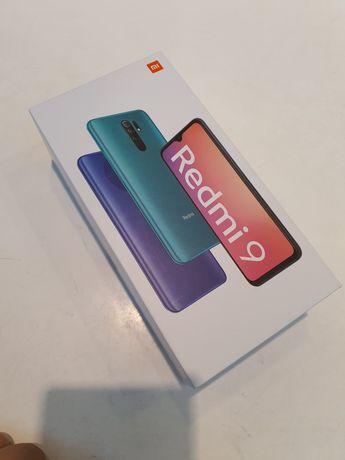 Xiaomi Redmi 9 4/64GB FIOLETOWY, nowy, Tili GSM!