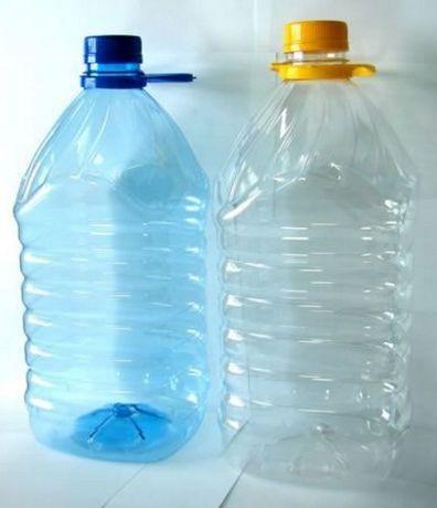 Продам бутилки, пляшки, бутлі пластикові 6л
