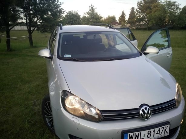 Volkswagen Golf 6 2010r kombi 1.6 d