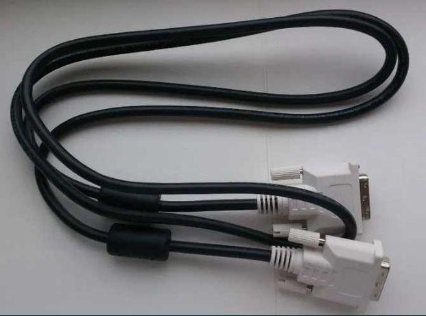 Кабели для монитора DVI-DVI и VGA-VGA