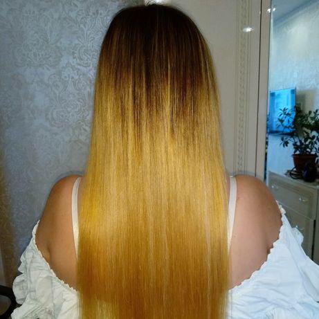 Наращивание волос. Капсулирование волос. Снятие волос. ЖК София