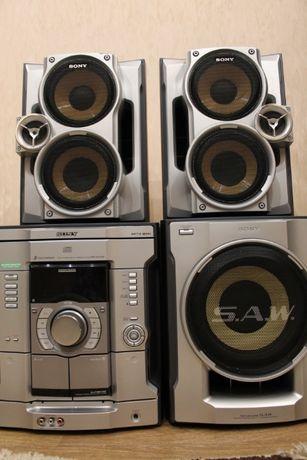 Музыкальный центр 500 Вт с Блютуз Bluetooth AUX АУХ
