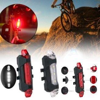 2 LAMPKI rowerowe PRZÓD TYŁ LED wysyłka PL