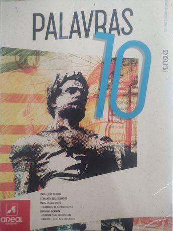 Livro de português 10°ano Palavras
