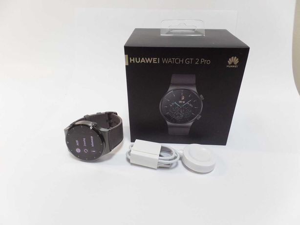 Jak Nowy HUAWEI WATCH GT 2 PRO - Na Gwarancji !