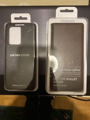 Oryginalne Etui Samsung Note 9 S20 Ultra Tanio
