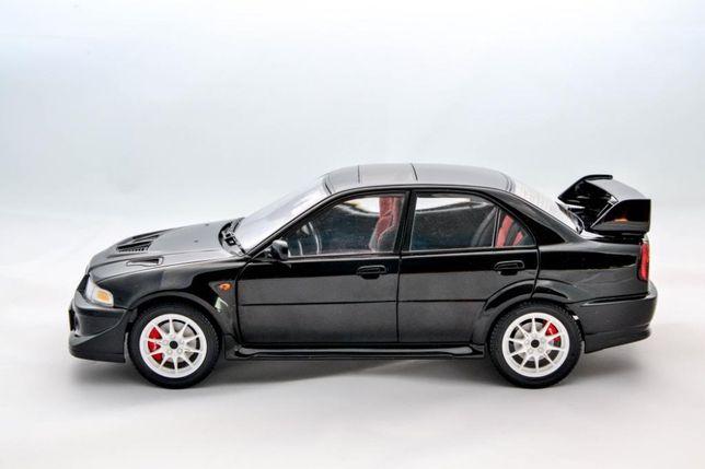 1:18 AUTOart Mitsubishi Lancer EVO VI TME - Black