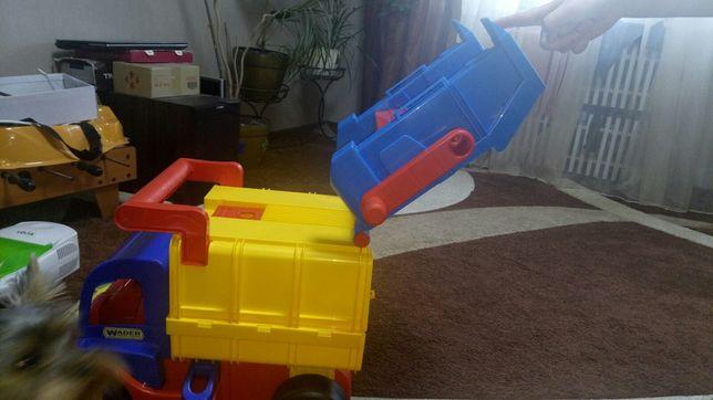Машинка мусоровоз гигант Wader 67000