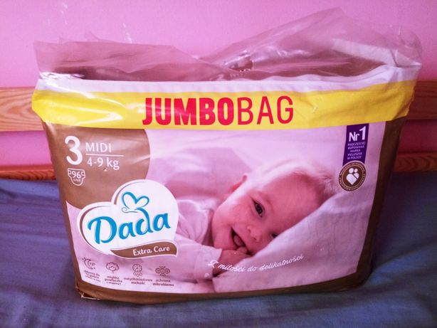 Pampersy Dada Premium Care JUMBOBAG 96szt