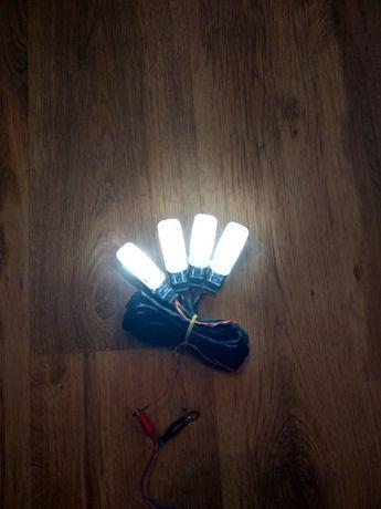 Oświetlenie LED dywaników przód i tył Skoda VW Seat Audi