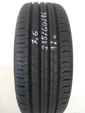 Opona 215/60R16 Continental Contiecocontact 5.  7.6mm