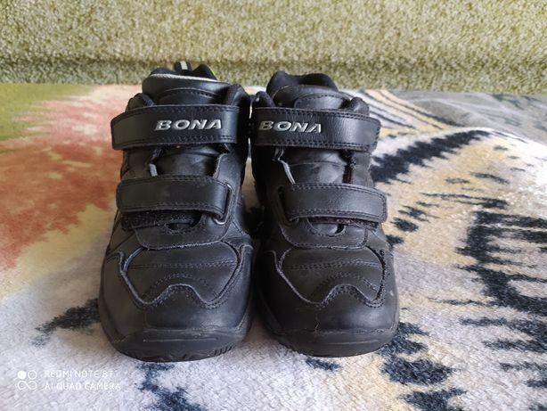 Кроссовки кожаные для мальчика размер 31