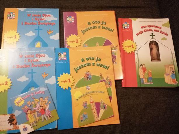 Oddam książki do religii klasy 1-3