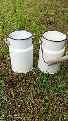 Bańka kanka na mleko prl