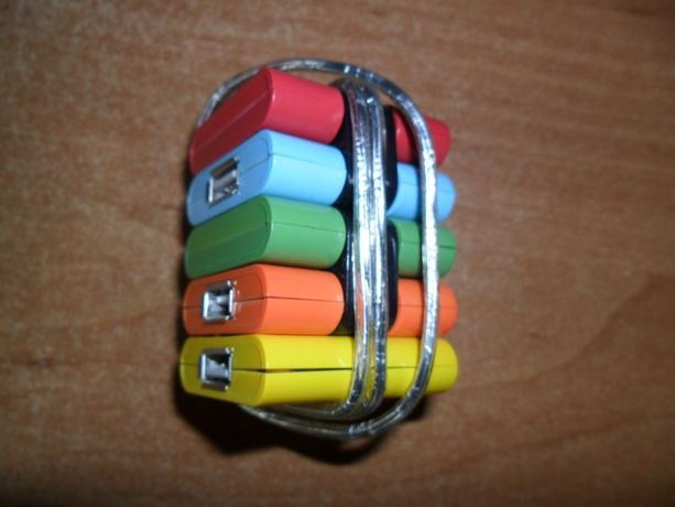 USB концентратор -книжка на 4 выхода.