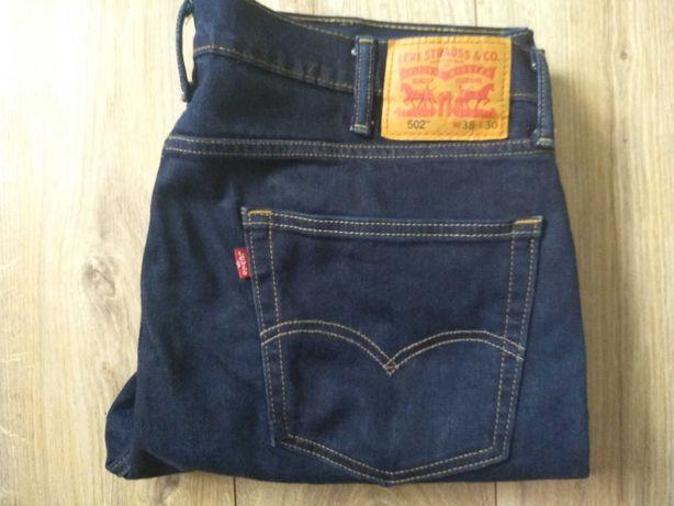 Levi's 502 W38L30 rurki spodnie Levis