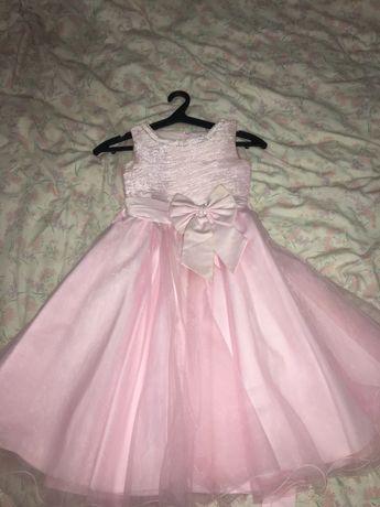 Продам детское розовое платье