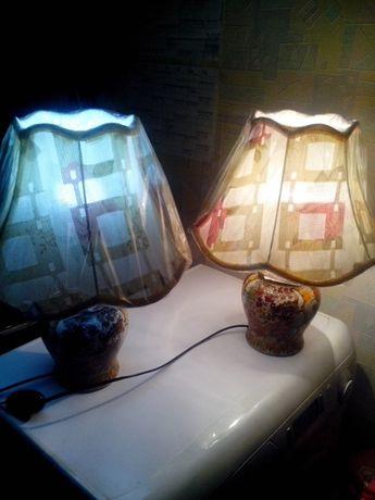 Два светильника,Фарфор,роспись,Китай,прошлое столетие50е.