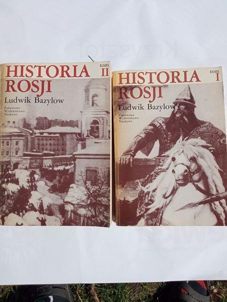 Historia Rosji tom pierwszy i drugi