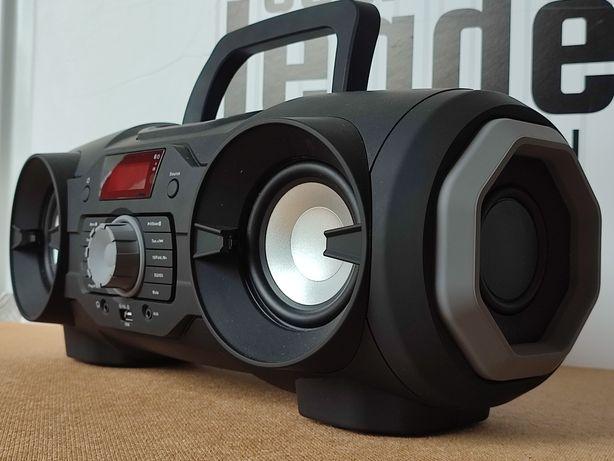 Boombox odtwarzacz CD głośnik bluetooth radio USB AUX