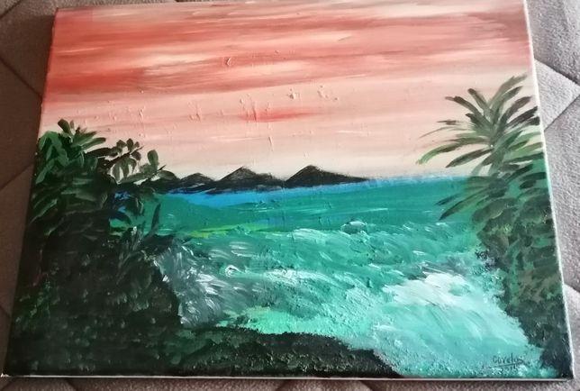 Telas com paisagens