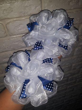 Детские школьные банты на резинке для девочки