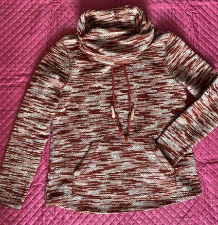 Толстовка свитер теплый женский свитшот