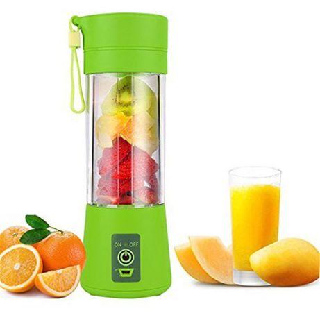 Портативный Фитнес блендер с USB Juice Cup Fruits юсб шейкер, есть опт