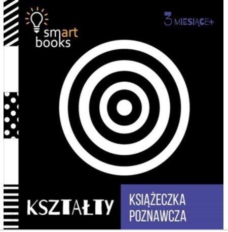 SMARTbooks 3 KSIĄŻECZKI kontrastowe NIEMOWLĘTA nauka Rozwój