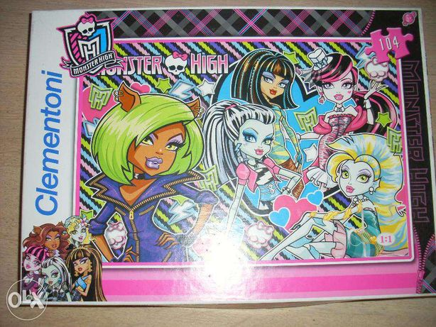 puzzle Monster high 104 el.