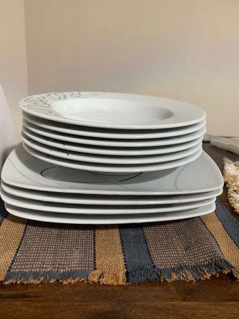 Conjunto de pratos - 10 unidades (Oferta de individuais de mesa)
