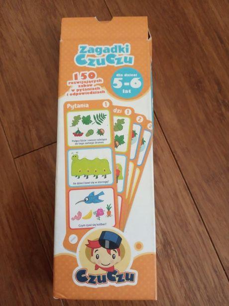Sprzedam grę edukacyjną Zagadki CzuCzu dla dzieci w wieku 5-6 lat