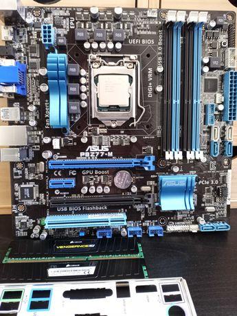 Motherboard Asus P8Z77-M, 16GB DDR3 Corsair Vengeance Ram