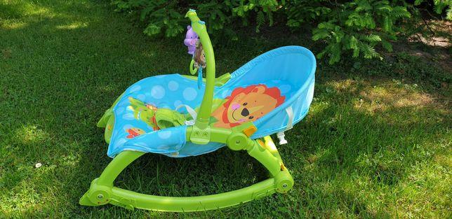 Leżaczek bujaczek 3w1 Fisher Price Land Toys