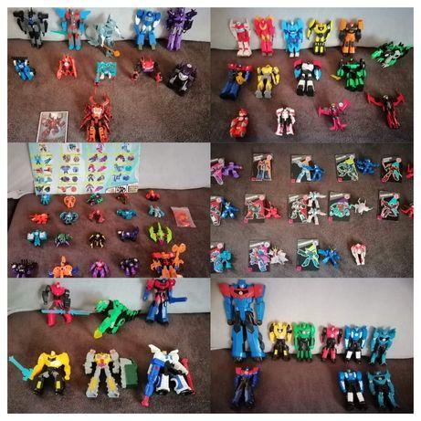 Ogromny zestaw transformers figurki decepticion minicons dla fana